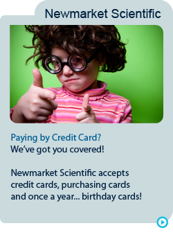Newmarket scientific credit