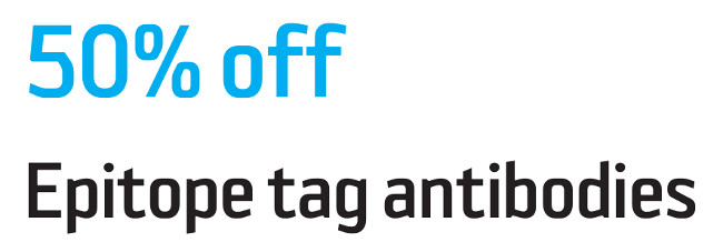 Tag antibodies from Agrisera